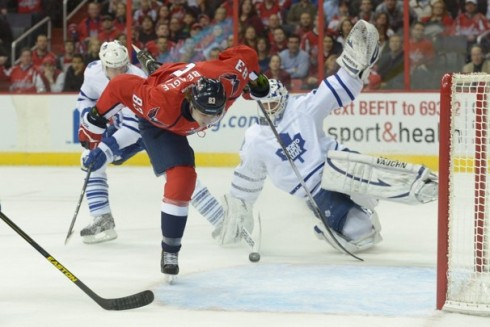 The Capitals failed to put three periods together and lose to the Leafs