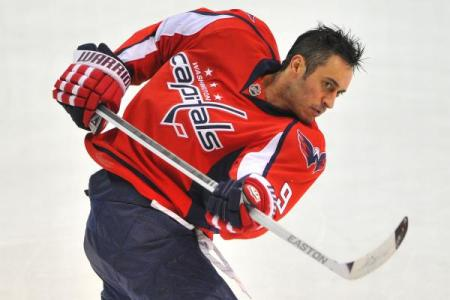 Will Mike Ribeiro be traded away or is he here to stay? (stop rhyming, I mean it) photo by Bob Youngentob CSN Washington