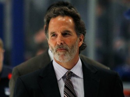 John Tortorella lost his first game back at MSG since he and Alain Vigneault swapped teams. photo by Bruce Bennett/ Getty Images