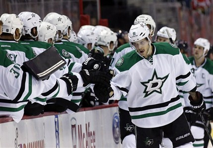 Tyler Seguin scored as the Stars defeated the Capitals 5-0. photo by the Canadian Press